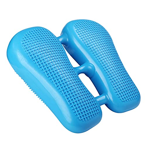 Beiyasi Máquina de pérdida de Peso Mini Inflable Stepper Balance Training Foot Peddle Ejercitador Piernas Delgadas Estómago Equipo de Fitness Fitness Foot Stepper Azul
