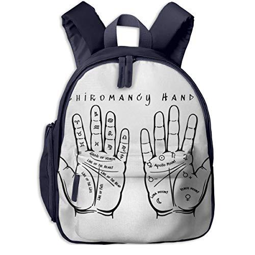 Kinderrucksack Kleinkind Jungen Mädchen Kindergartentasche Handlesen 518 Backpack Schultasche Rucksack