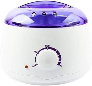 プロの電気ワックスヒーター、ヒーター、ソフト、パラフィン、暖かい、クリームとリボンワックスに適しています。大広間のための調節可能な温度の毛の取り外しのためのワックスメルター、品質の結果 (Color : White)