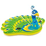 Intex Peacock Inflatable Island, 76' X 64' X 37', for Ages 6+