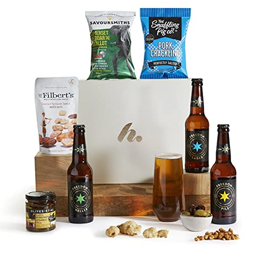 Craft Beer and Snacks Hamper - Beer Gifts and Hampers - Beer Hamper Gift