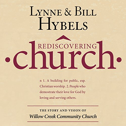 Rediscovering Church audiobook cover art