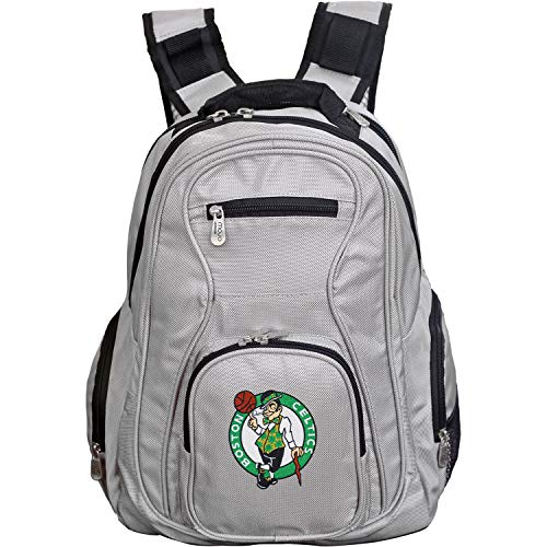 NBA Boston Celtics Voyager Laptop Backpack, 19-inches, Grey