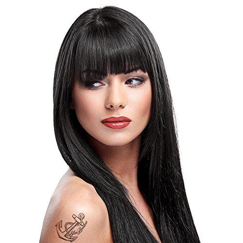 La Riche Directions Semi-Permanent Hair Colour Dye Ebony by La Riche