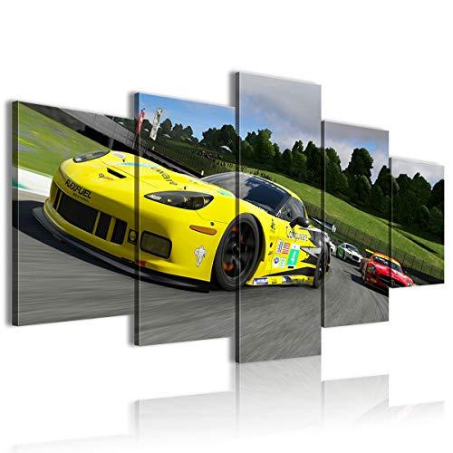 El 4 ZR1 en Mugello Forza Motorsport 7 juego The Picture 5 Pieces Hotel 150x80 enmarcado