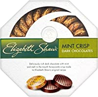 Elizabeth Shaw Mint Crisp Dark Chocolate (175g) by Elizabeth Shaw [並行輸入品]
