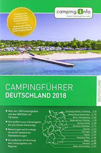 Campingführer Deutschland 2019 von Camping.info GmbH