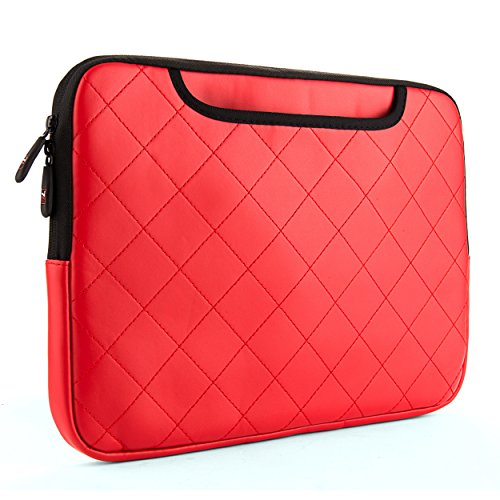 VanGoddy Gummy Laptop Sleeve for Acer 13.3 inch Laptops, Candy Red
