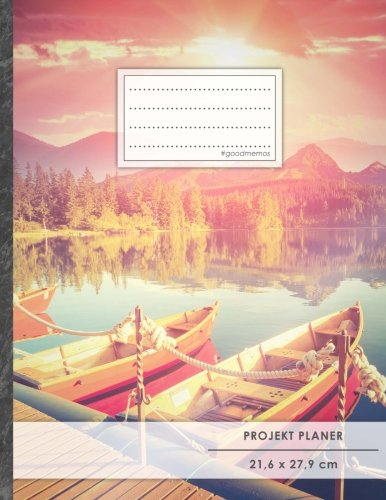 Projektplaner: DIN A4 • 70+ Seiten, Soft Cover, Register,