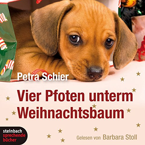 Vier Pfoten unterm Weihnachtsbaum                   By:                                                                                                                                 Petra Schier                               Narrated by:                                                                                                                                 Barbara Stoll                      Length: 2 hrs and 12 mins     Not rated yet     Overall 0.0