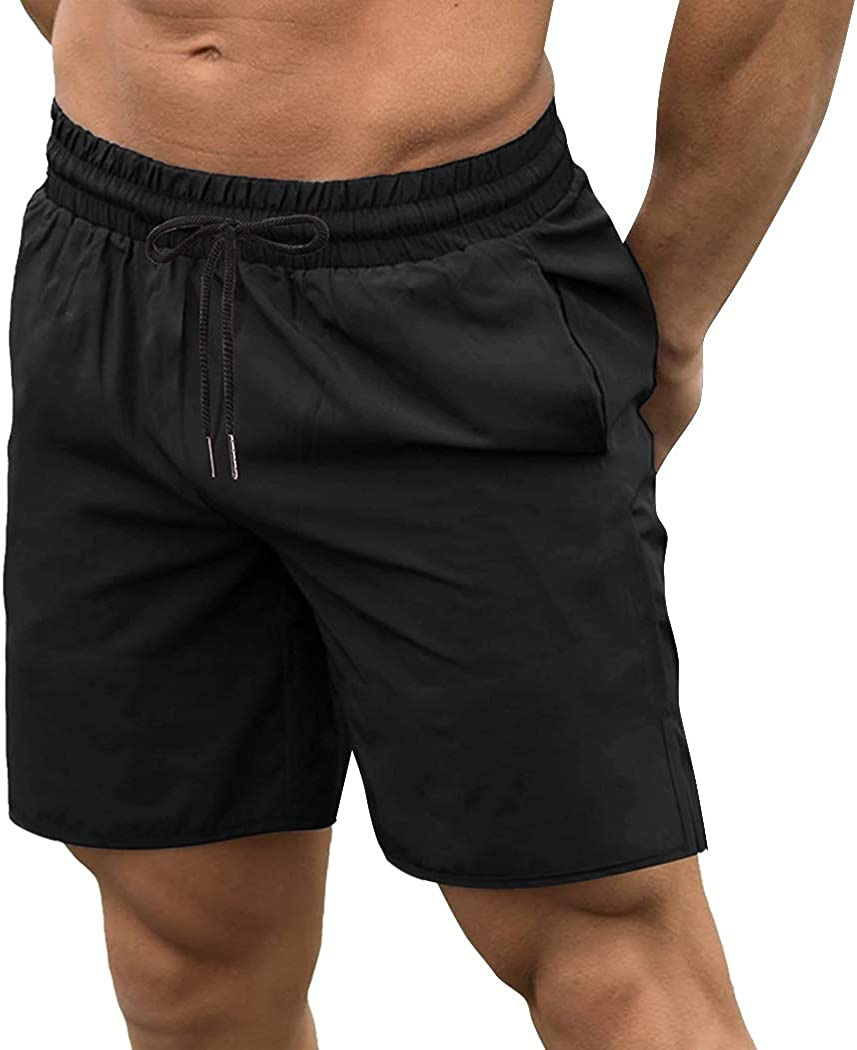 Tulsa Mall COOFANDY Men's 2 Pack Fort Worth Mall Gym Quick Bodybuilding Dry Shorts Workout