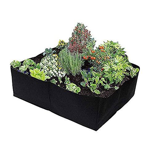 BE-STRONG Bolsa de siembra, contenedor de siembra de Fieltro de Malla 4/8, Bolsa de Planta Reutilizable, para sembrar Bolsa de Papa, Bolsa de Tomate, Fresa, Vegetal,S.