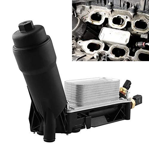 Adaptador de filtro de aceite de automóvil Modificación del coche del refrigerador de aceite Caja del filtro Filtro Filtro Base 3.6L V6 motor 5184294AE motor enfriador de aceite de la Vivienda, for Je