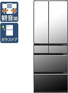 日立 602L 6ドア冷蔵庫(クリスタルミラー)HITACHI HXシリーズ R-HX60N-X