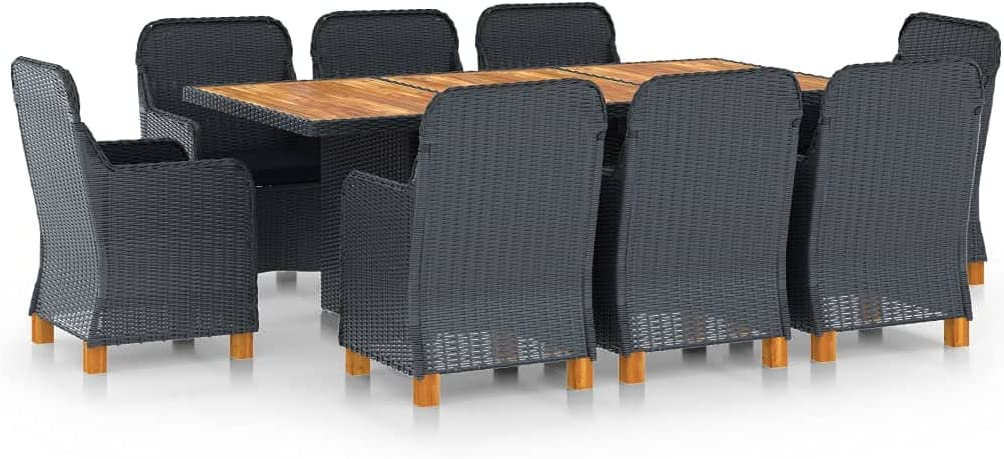 Outdoor Patio Max 90% OFF Furniture Set with Thick Chairs 67% OFF of fixed price Conversation