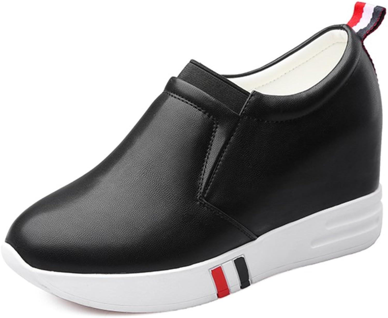 Platform height-increasing women shoes Fashion high heel foot deep mouth shoe