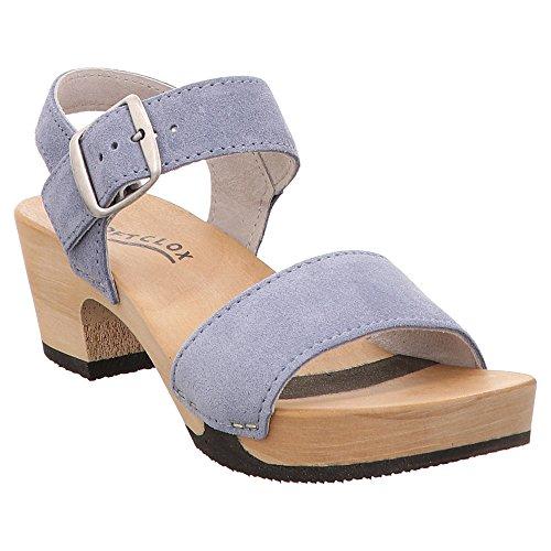 Softclox Damen Sandaletten S3380 KEA Kaschmir LIGHTBLUE lila 614001
