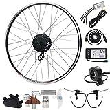 "SEASON E-Bike Conversion Kit, 36V 350W 28"" Hub Motor kit with Rear Wheel"