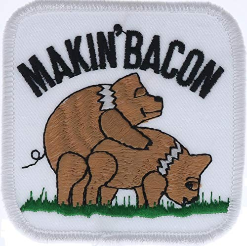 Makin' Bacon 3' Embroidered Patch PPM0021k