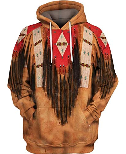 Indian Native Harajuku Colorful Chándal 3D Full Print Hoodie/Sweatshirt/Jacket Just picture2 5XL