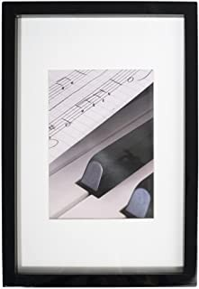 Henzo Piano Wooden Picture Photo Frame, Wood, Black, 52 x 42 x 3 cm