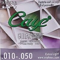 Murakush アコースティックギター弦 ギターストリング 6個 フォークギターアクセサリー 楽器アクセサリー AW632