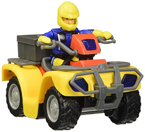 Sam el bombero - Quad Mercury con Figura(Simba 9257657)