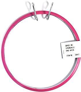 Darice Spring Tension Pink Embroidery Hoop 7 Inch