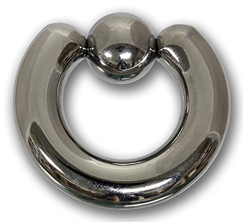 Klemmkugelring 7,0 x 19 mm aus 316L Chirurgenstahl - Piercing BCR Ball Closure Ring