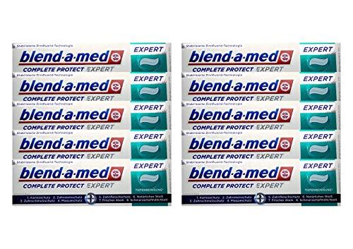 10x blend-a-med Complete Protect EXPERT Tiefenreinigung Zahnpasta 75ml