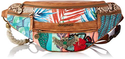 Desigual Fabric Belt Bag, Espalda para Mujer, rojo, U