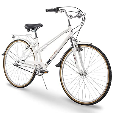 Royce Union 700c RMX Womens 3-Speed Commuter Bike, Aluminum Frame, White