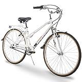 700c Royce Union RMX Womens 3-Speed Commuter Bike, 15' Aluminum Frame, White