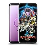 Head Hülle Designs Offiziell Offizielle Iron Maiden Best of Beast Kunst Soft Gel Handyhülle Hülle kompatibel mit Samsung Galaxy S9