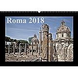 Roma (Wandkalender 2018 DIN A2 quer): Historische Staetten der italienischen Hauptstadt Rom (Monatskalender, 14 Seiten )