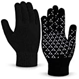 Balhvit Winter Gloves for Men Women Anti Slip TouchScreen Gloves for Extreme Cold