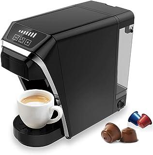 Machine à café à capsules multifonctionnelle 2 en 1 Compatible avec la capsule Nespresso/Dolce Gusto