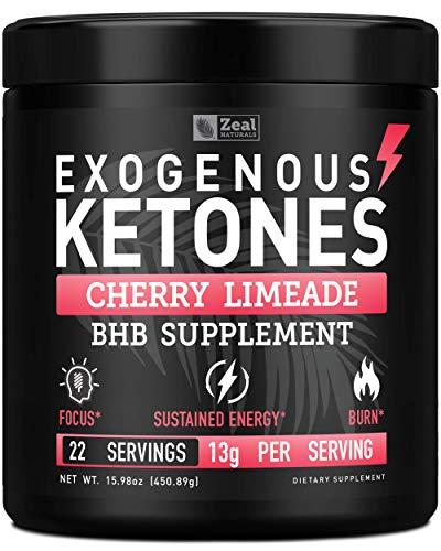 Pure Exogenous Ketones BHB Powder (13g | 22 Servings) Best Tasting Keto Drink with goBHB