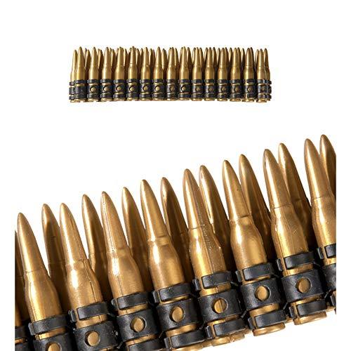 Widmann 2724S Realistischer Munitionsgürtel für die Hüfte, Gold, One Size