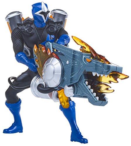 Power Rangers 43677 Ranger Super Ninja Steel Assault Spielzeug, blau