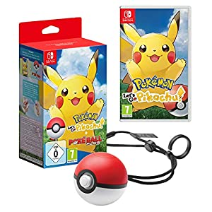 Pokemon Let'S Go Pikachu + Poke Ball Plus