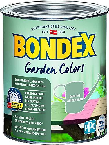 Bondex Garden Colors Sanftes Weidengrau 0,75l - 386159