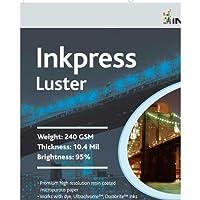 Inkpress PCL131920 商用光沢インクジェットペーパー 13インチ x 19インチ。 20枚。