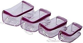 Kuber Industries™ Travelling Kit, Multi Purpose Kit, Make Up kit Set of 4 Pcs