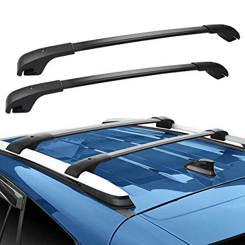 YITAMOTOR Roof Rack Cross Bars Compatible for 2013-2018 Toyota RAV4, Aero Rooftop Luggage Cargo Bag Crossbars Kayak Canoe Bike Carrier