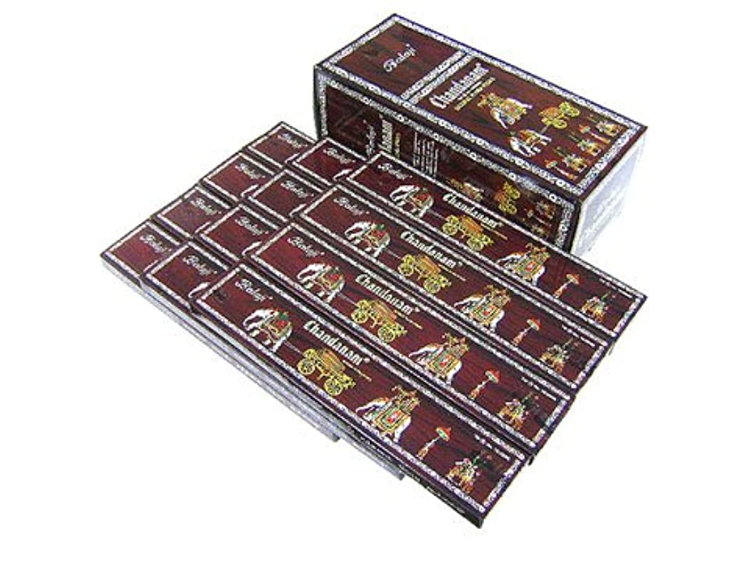 BALAJI(バラルジ) チャンダナム香 スティック CHANDANAM 12箱セット