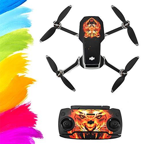 Leeofty Compatible con Mavic Mini Drone Stickers Impermeable Anti Scratch Drone Surface Guard PVC Sticker DIY Accesorio