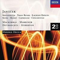 Janテ。cek: Sinfonietta / Taras Bulba / Lachian Dances / Suite / Mlテ。di / Capriccio / Concertino (1997-10-14)