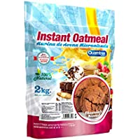 Quamtrax Instant Oatmeal - Harina de Avena 2 kg - chocolate biscuit