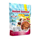 Quamtrax Gourmet Avena Instantánea en polvo, Sabor Chocolate Biscuit - 2000 gr